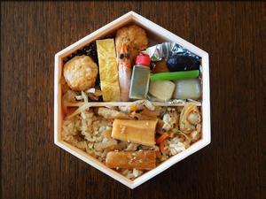 亀戸升本のお弁当はミニすみだ川 - 人形町からごちそうさま