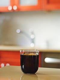 季節がめぐり、アイスコーヒーの美味しい毎日に - NY/Brooklynの空の下