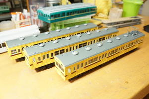 【鉄道模型・HO】101系再生計画・9 - kazuの日々のエキサイトな企み!