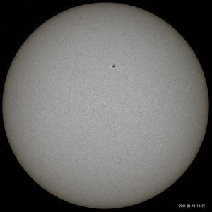 6月19日の太陽 - お手軽天体写真