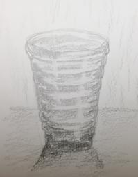 イッタラのグラス  スケッチ - *乾杯の自由帳*