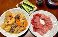 本マグロと肉じゃが & 八海山大吟醸♪ - よく飲むオバチャン☆本日のメニュー