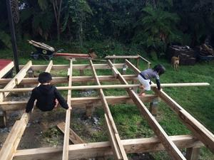 パパのドリームプロジェクト、息子たちの遊び場 -