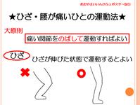 ひざ・腰が痛いひとの運動方法 あおやまいいんかふぇ その5 #2345 - 初心者目線のロードバイクブログ(青山医院)