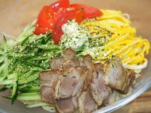 ゆず冷麺とカラメル入りトマトスープ - sobu 2