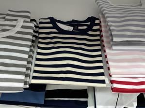 40年振り?のボーダーTシャツ - madameHのバラ色の人生