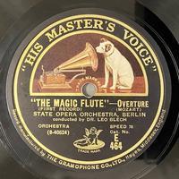 通販サイトにL.ブレッヒ指揮モーツァルト「魔笛」のSP盤をアップ - シェルマン アートワークス 蓄音機blog