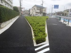 補助230号線 大泉町2の工事は終了しました。 - 大江戸線延伸工事について