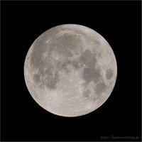 満月 6/25 1:15 - 遥かなる月光の旅