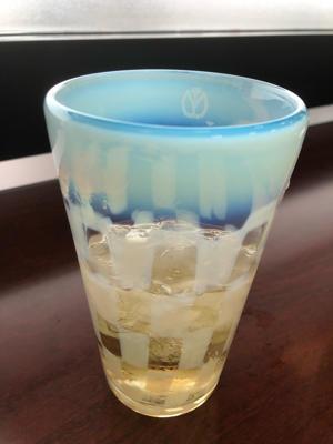 満州鉄道 氷コップ - 錦絵の寺坂屋