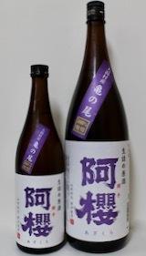阿櫻・夏酒「純吟 COOL BLUE」&「純米 SPARKLING」(2021.07.23 Fri.) - 一酒一会