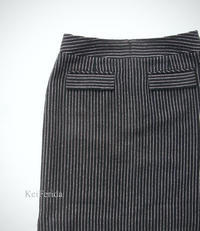 Black stripe skirt - KeiFerida