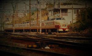 何気なく 485系 1989 門司港にて - 鉄道少年の日々