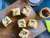 7月の美味しいもの/ Scones, Buffalo Brie, Lamb Chop - アメリカからニュージーランドへ