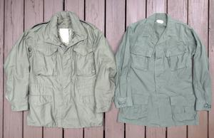 いわゆる「ミリタリージャケット」の違い  M-65ジャケットとジャングルファティーグジャケット比べてみた(入門編) - M-51Parkaに関する2,3の事柄