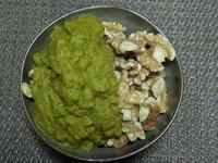 くるみに野菜スムージーで満腹 - 食写記 ~Shokushaki's Blog~