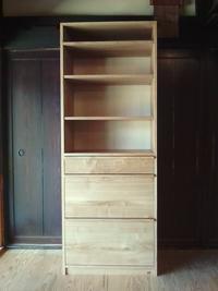 栗のキッチン収納棚 - woodworks 季の木  日々を愉しむ無垢の家具と小物