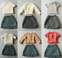 Keito's Flare Skirt - Knit Doll Keito