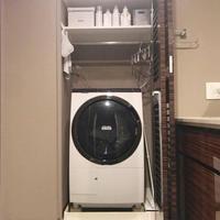 【自宅収納】色を統一してスッキリシンプルに◎洗濯機周りの収納法 - 暮らしの美活