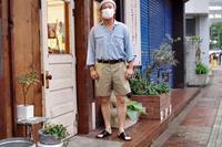"1980s Italian Military Chino Shorts / 80年代 イタリア軍 チノ ショーツ 50 EXL - biscco ""Men's Blog""  ( 仙台 古着屋 biscco )"