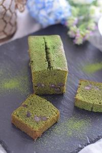 Gâteau Macha Azuki* - R-Sweetsな生活