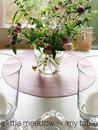 小さなメドウ on my table - serendipity blog