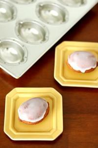 新しいレモン型で、酒種レモンケーキ - Takacoco Kitchen