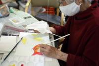 絵画会 ~ 金魚 ~ - 鎌倉のデイサービス「やと」のブログ