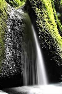 余りの暑さに滝の写真でも~~♪ - 気まぐれカメラ散歩