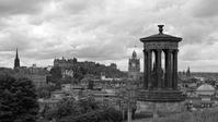 イギリスの旅(モノクロ版) エディンバラ - 光 塗人 の デジタル フォト グラフィック アート (DIGITAL PHOTOGRAPHIC ARTWORKS)