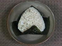 押麦おにぎり - 食写記 ~Shokushaki's Blog~