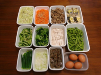 2021/7/18常備菜(たらのレモン蒸しなど) * 実家から届いた柿の種とか色々 - お弁当と春の空
