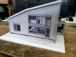 建主の模型 - 家づくり西方設計