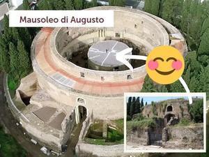 クイズ♪「アウグストゥスの廟」から♪2021@ 久々のイベント!「アウグストゥスの廟」に、行ったよ♪② 2021-週末のクイズ?- ~ Il mausoleo di Augusto ~ - 『ROMA』ローマ在住 ベンチヴェンガKasumiROMAの「ふぉとぶろぐ♪ 」