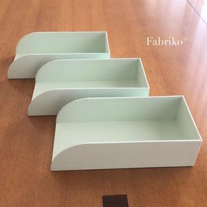 マスクの保管、我が家の場合・2 - Fabrikoのカルトナージュ ~神戸のアトリエ~