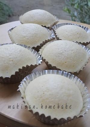 薄力粉で作る「蒸しパン」 - マキパン・・・homebake パンとお菓子と時々ワイン・・・