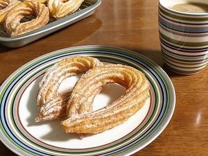 おうちドーナツとスタバ クッキー&クリームドーナツ  - la la la kitchen 2 ♪