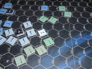 ツクダ「銀河英雄伝説:アムリッツァ星域会戦」をソロプレイ⑤ - マイケルの戦いはまだまだ続く