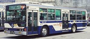大分バス 三菱ふそうKC-MP747K +MBM - 資料館の書庫から