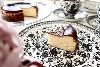 バスク風チーズケーキ - 杉並区お菓子教室「jardin de l'abbaye 」ブログ