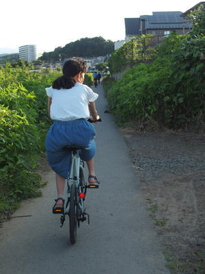 夕空市場サイクリング - 本日も晴天なり  ちょっとそこまで自転車で