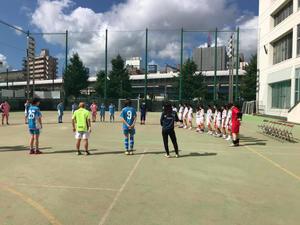 フットサル練習試合 vsみなと総合高校 - 横浜ウインズ U15・レディース