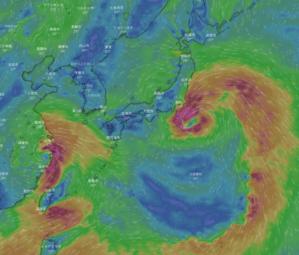 台風7号、7月27日(火)、三重県上陸か? 台風8号はかなり大きい。 - 沖縄の風