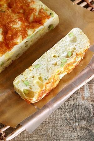 枝豆とチーズのフォカッチャ - Takacoco Kitchen