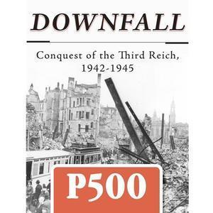 『Downfall 1942-1945』GMT社が発表した最新のプレ500ゲームは、ヒトラー帝国の終わりを告げる1942年末からベルリン陥落の1945年春までを扱った積木キャンペーンゲーム - YSGA 例会報告