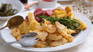 北海道の「たら」で「フィッシュ&チップス」♪ - 登志子のキッチン