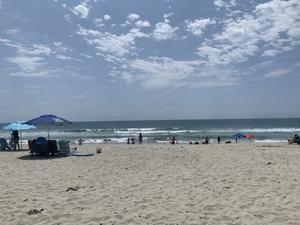 ビーチにて Beach time - 夢のアメリカ生活2
