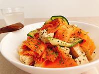 食卓がパッと華やぐヘルシーな副菜!カラフルリボンサラダの作り方 - Tempota Cuisine
