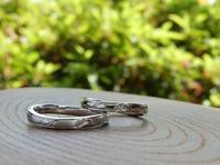 ふたりだけの結婚指輪 オーダーメイド    岡山 - 工房Noritake