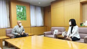 東久留米、清瀬の両市長を訪問 - こんにちは 原のり子です